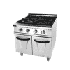 Gas 4 Burner Range With Cabinet 5