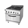 700 Gas 4 Burner Range With Oven 2