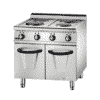 700 Electric 4 Hot Plate Cooker With Cabinet (Round) 2