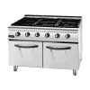 Gas 6 Burner Range With Cabinet 3