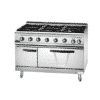700 Gas 6 Burner Range With Electric Oven 3